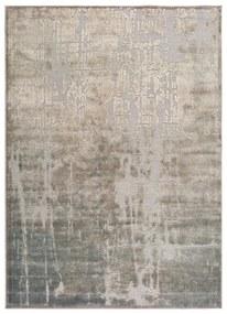 Béžový koberec z viskózy Universal Margot Azul, 200 x 300 cm