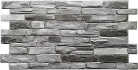 3D PVC obklad - Grey Stone