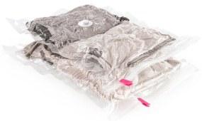 Sada 2 vákuových obalov na oblečenie Compactor Clear, 40 x 60 cm