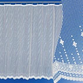 Goldea žakárová záclona vzor 3848 - metráž 120 cm