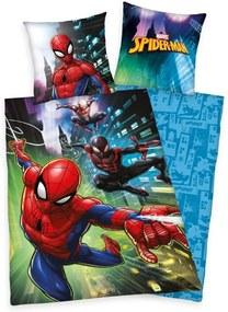 HERDING Obliečky Spiderman Bavlna 140/200, 70/90 cm