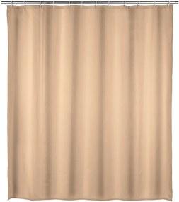 Béžový kúpeľňový záves Wenko, 180 x 200 cm