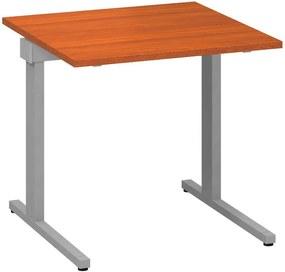 Stôl kancelársky, 800 x 800 x 742 mm, čerešňa