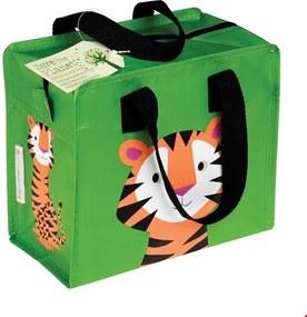 Rex London Taška so zipsom - motív Tiger Charlotte