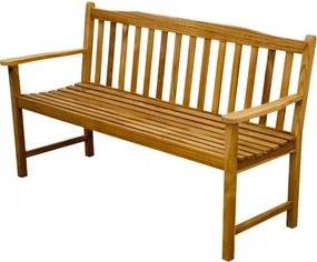 Teaková záhradná lavica 3 sedadlová - Doppler