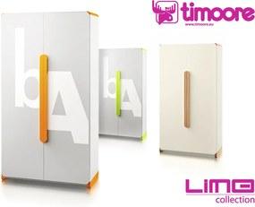 Timoore Šatníková skriňa Limo T03-03-G - zelená