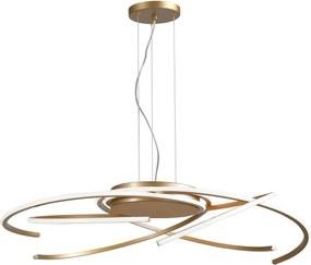 Moderné svietidlo REDO ALIEN bronzová LED 01-1870