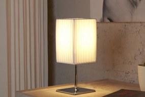 Bighome - Stolná lampa DECRUX - biela