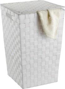Biely kôš na bielizeň Wenko Adria, 48 l