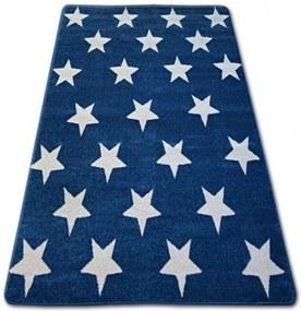 Kusový koberec Stars modrý, Velikosti 200x290cm