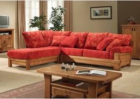 Rustikálna rohová sedacia súprava Sisteron 1 roh 3-Komfort-nábytok