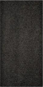 Vopi koberce Běhoun Color Shaggy černý - šíře 60 cm s obšitím