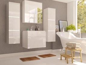 Kúpeľňa Pirton (lesk biely)