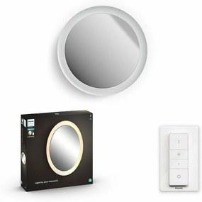 34186/31/P6 Hue Adore NÁSTĚNNÉ ZRCADLO LED 40W 2400lm 2200-6500K IP44, bílá BT Philips