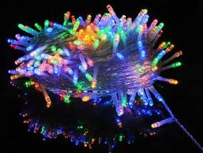Slevnuj ISO, Vianočné osvetlenie 300 LED, multicolor 30V