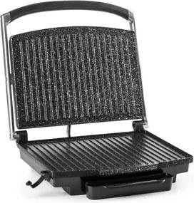 Klarstein Edelstein, multifunkčný kontaktný gril, panini gril, 2000 W, 240 °C, nerezová oceľ