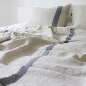Ľanové obliečky Usva 230x220, ľan-sivá, Rozmery  S vankúšom 80x80 cm Lapuan Kankurit
