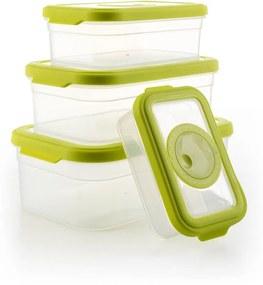 Dóza G21 plastová zelená set 4 ks 60022188