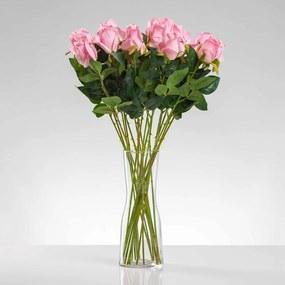 Umelá ruža ERIKA ružová. Cena uvedená za 1 kus.