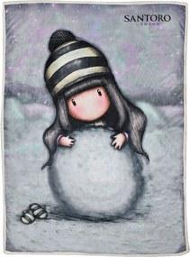 Santoro London - Deka 200g/m² 160x220cm - Gorjuss - The Snowgirl