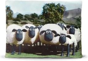Shaun the Sheep Ovečka Shaun - Vankúš s potlačou ovečky Shaun