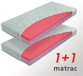 Materasso Slovakia, s.r.o. Matrac Sára 1+1, 85x200cm, AKCIA, Rolovaný