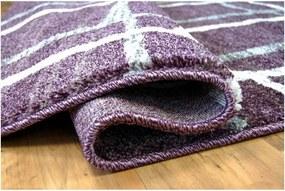 Kusový koberec Zen fialový, Velikosti 140x190cm