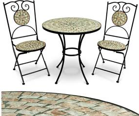 Záhradný set - Mozaika bilbao