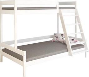 LU Borovicová poschodová posteľ RIO Farba: Borovica, Rozmer: 200x120