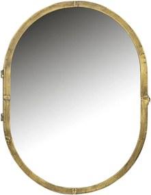 BEPUREHOME Kovové zrkadlo s úložným priestorom Unfold