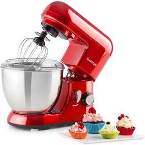 Klarstein Bella Pico Rossa, Min kuchynský robot, 800W, 1,1PS, 6 stupňov, 4 litre, červený