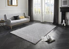 ELLE Decor koberce Kusový koberec Maniac 103647 Silver Grey/Cream z kolekce Elle - 80x150 cm