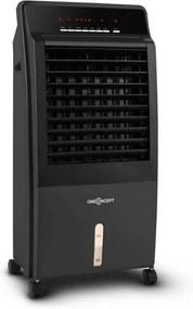 OneConcept CTR-1, čierny, chladič vzduchu 4 v 1, prenosná klimatizácia, 65 W, diaľkové ovládanie