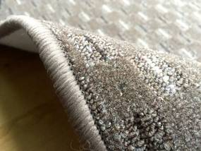 Vopi koberce Metrážový koberec Valencia hnědá - Rozměr na míru bez obšití cm