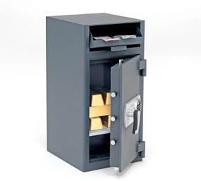 Trezor Save s vhadzovacou schránkou, 700x340x380 mm, elektronický zámok