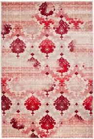 Luxusný kusový koberec Tapeta viskóza krémový, Velikosti 140x190cm