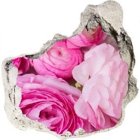 Fototapeta nálepka na stenu Divoké ruže WallHole-75x75-piask-117032976