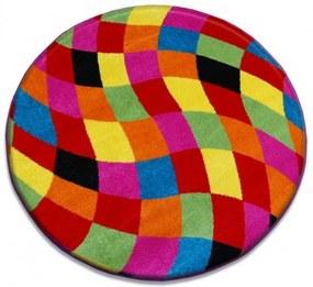 Detský kusový koberec Nemo viacfarebný kruh, Velikosti 80cm