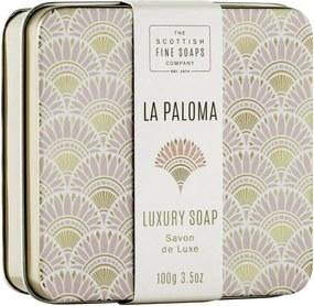 SCOTTISH FINE SOAPS Mydlo v plechu La Paloma 100g