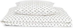 BABY posteľná bielizeň - Panda a krémová