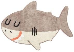 sass & belle Detský koberček Shelby the Shark