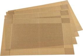 Jahu Prestieranie Harmónia zlatá, 30 x 45 cm, sada 4 ks