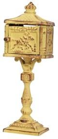 Dekoratívna poštová schránka Antic Line Letter, výška 24 cm