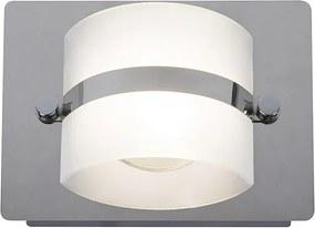 Rábalux Tony 5489 LED Vonkajšie Nástenné Svietidlá chróm biely LED 5W
