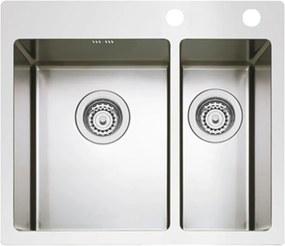 Sinks nerezový drez BOXER 585.1 RO