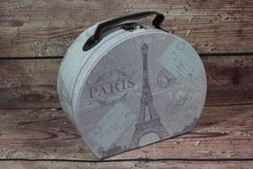 """Ozdobný kufrík """"PARIS"""" (24x12x20 cm)"""