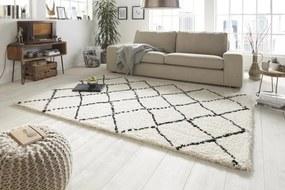 Mint Rugs - Hanse Home koberce Kusový koberec Allure 102753 creme schwarz - 80x150 cm