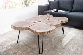Konferenčný stolík Goa II 115 cm z masívneho agátového dreva