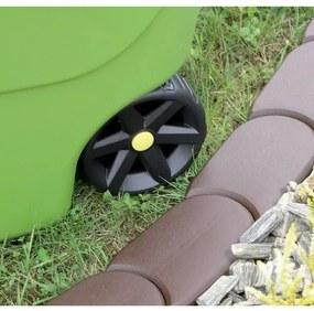 Prosperplast Záhradná palisáda hnedá, 192,3 cm, 192,3 cm