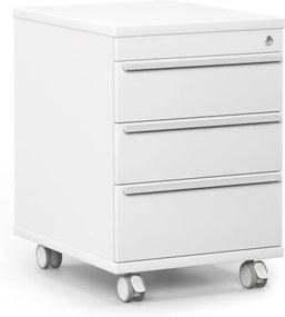 DREVONA Šuflíkový kontajner biely RP KN 3